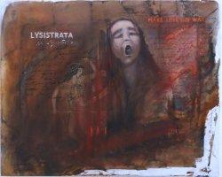 """""""Lysistrata schreit"""" Öl auf Leinwand"""
